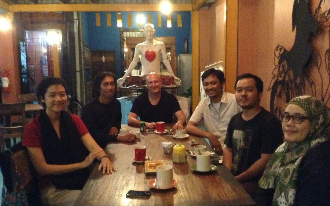 Kunjungan Andrew Weintraub ke Yogyakarta