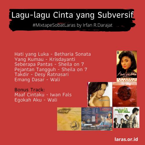 [Mixtape] Lagu-Lagu Cinta yang Subversif